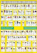 S-90 English Phonics Chart A1 (Medium Wallchart for Class Reference)